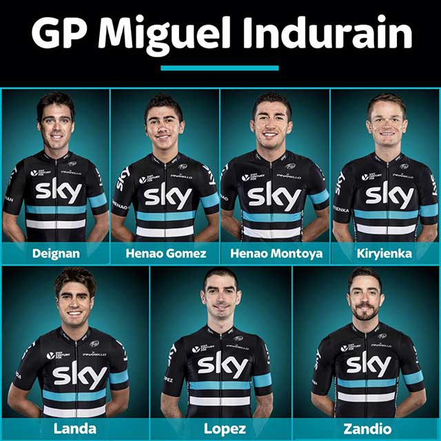 Team Sky - GP Miguel Indurain