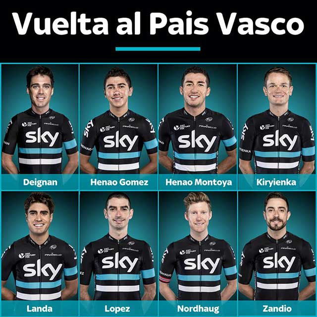 Team Sky - Vuelta al Pais Vasco