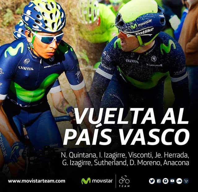 Nairo Quintana - Vuelta al Pais Vasco 2016