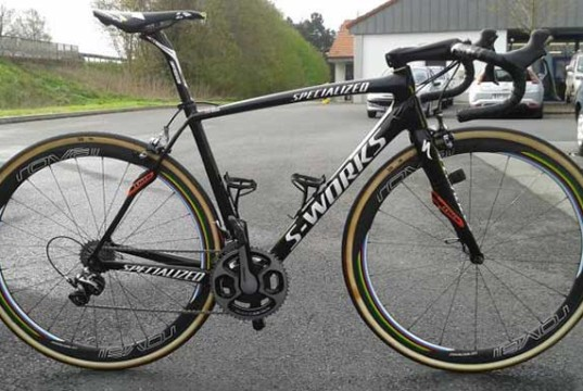 Peter Sagan - Specialized S-Works Roubaix