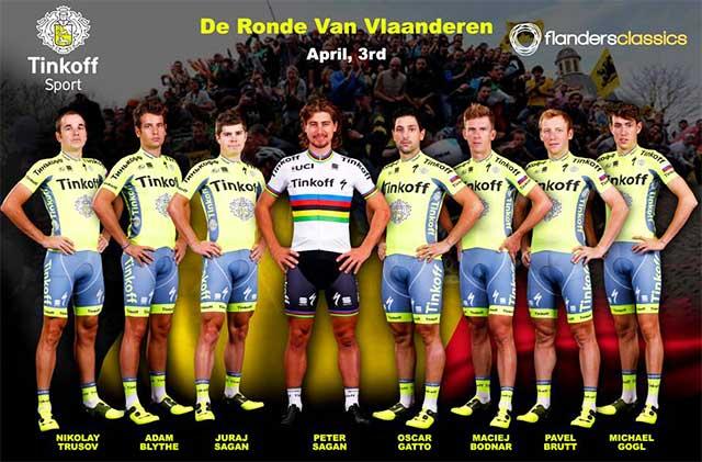 Tinkoff - Tour de Flandes 2016