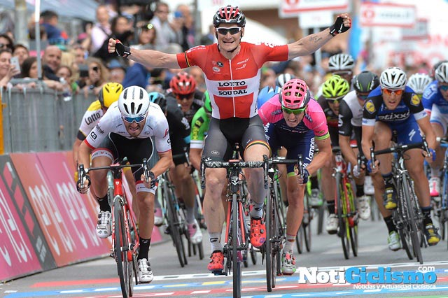 Giro de Italia 2016: Etapa 7 – Greipel imbatible