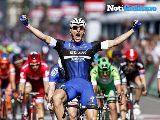 Giro de Italia 2016: Etapa 2 – Imparable Kittel