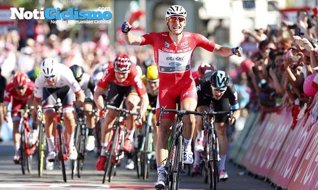 Giro de Italia 2016: Etapa 3 – Kittel contundente