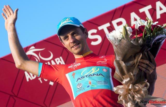 Tour de Abu Dhabi 2016: Tanel Kangert gana la etapa reina y es nuevo líder