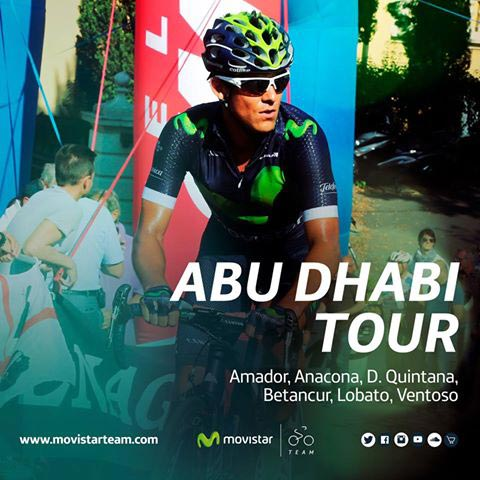Tour Abu Dhabi 2016 - Movistar Team