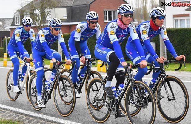 Boonen y Gilbert liderarán al Quick-Step Floors en el Tour de Flandes 2017