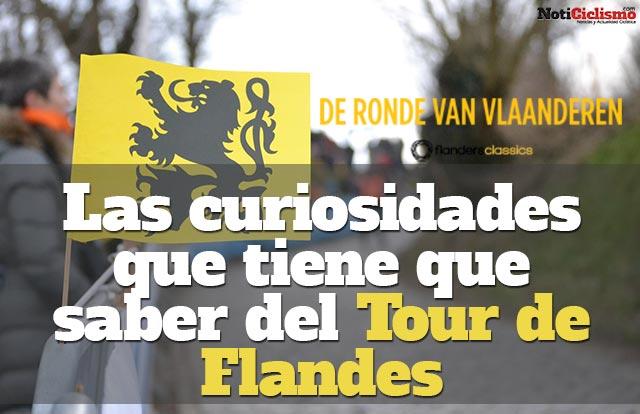 Las curiosidades que tiene que saber del Tour de Flandes