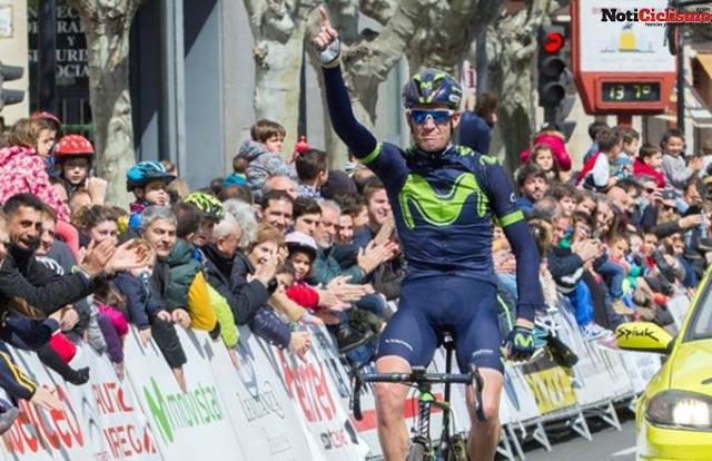 Rory Sutherland se impone en solitario en la Vuelta a La Rioja 2017