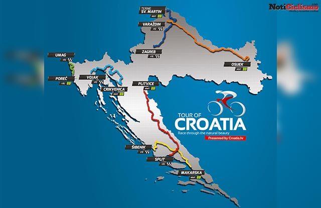 Tour de Croacia 2017 - Portada