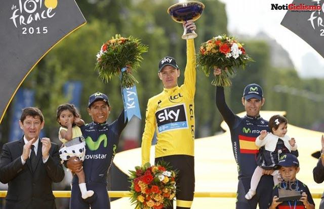 Tour de Francia-2015 - Podium