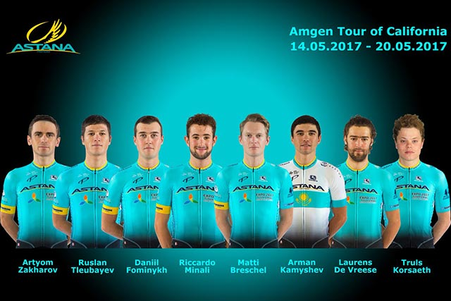 Tour de California 2017 - Astana