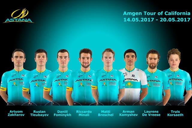Tour de California 2017 - Astana