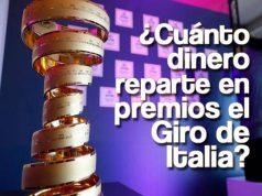 ¿Cuánto dinero reparte en premios el Giro de Italia?