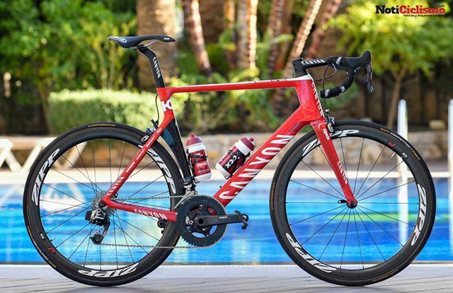 Katusha-Alpecin - Canyon Ultimate CF SLX