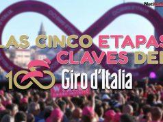 Las cinco etapas claves del Giro de Italia 2017