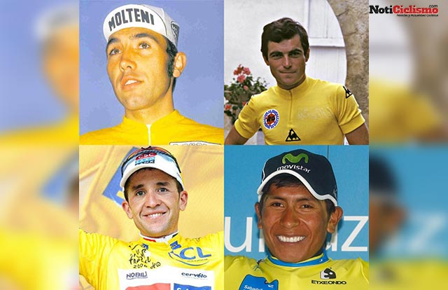 Nairo Quintana, Merckx, Hinault y Sastre