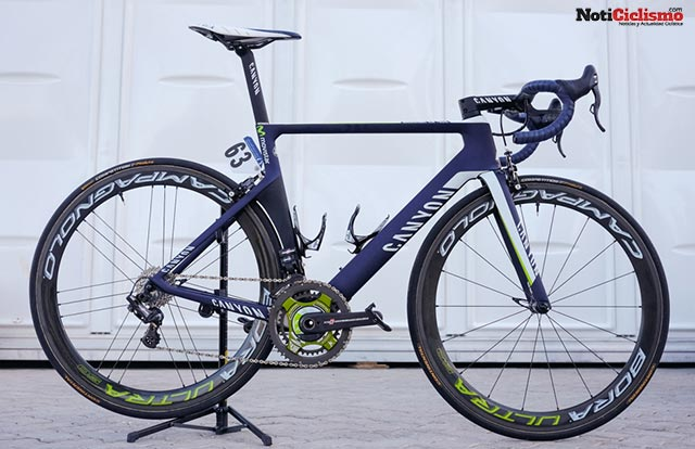 Movistar-Team - Canyon Aeroad CF SLX