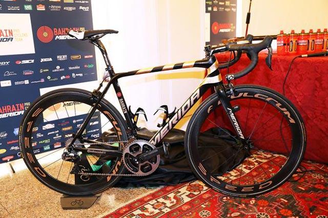 Bicicleta de Vincenzo Nibali Giro