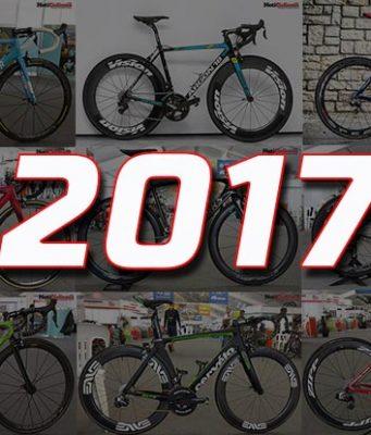 Bicicletas de los equipos WorldTour 2017