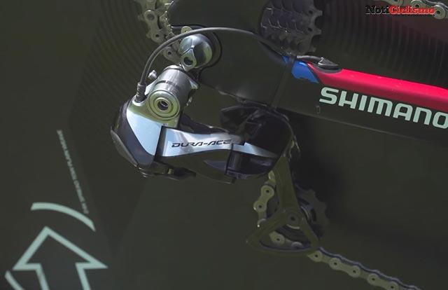 Giant Trinity Advanced Pro TT - Desviador trasero