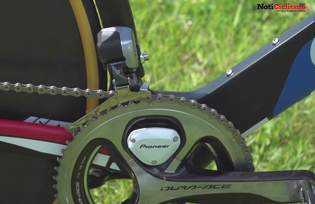 Giant Trinity Advanced Pro TT - Caja pedalera