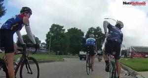 Ciclista recibe un disparo mientras montaba en bicicleta