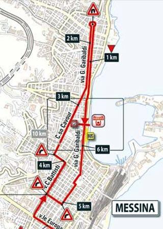 Giro de Italia 2017 (Etapa 5) Ultimos kilometros