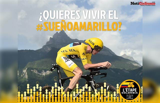 Chris Froome - L'etape Colombia