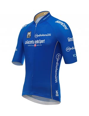 Giro de Italia - La maglia azurra