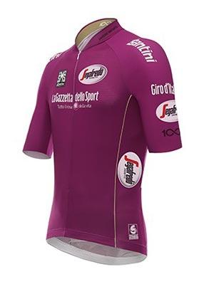 Giro de Italia - Maglia ciclamino