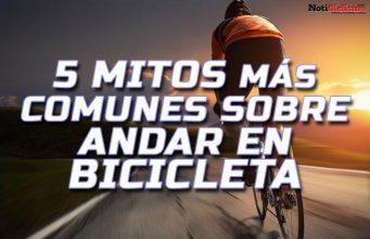 Estos son los 5 mitos más comunes sobre andar en bicicleta