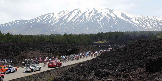 Monte Etna - Giro de Italia 2017