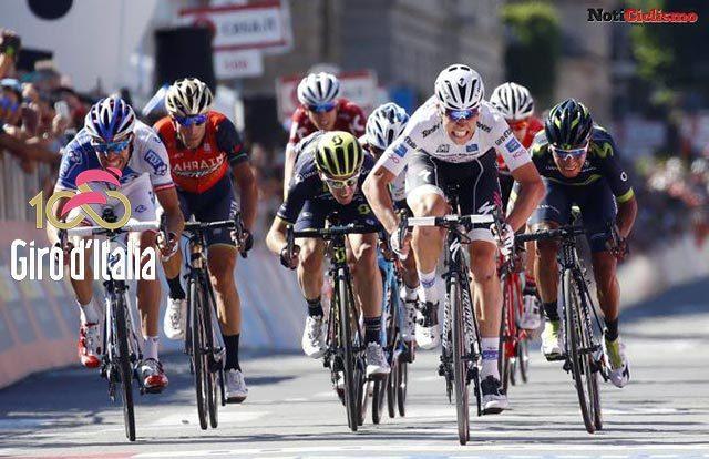 Nairo Quintana al sprint