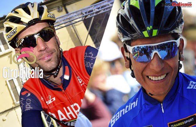 Giro de Italia - Nairo Vs Nibali