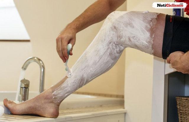 ¿Afeitar las piernas ayudan a ser más rápido sobre la bicicleta?
