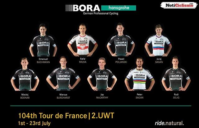 Bora-Hansgrohe - Tour de Francia 2017