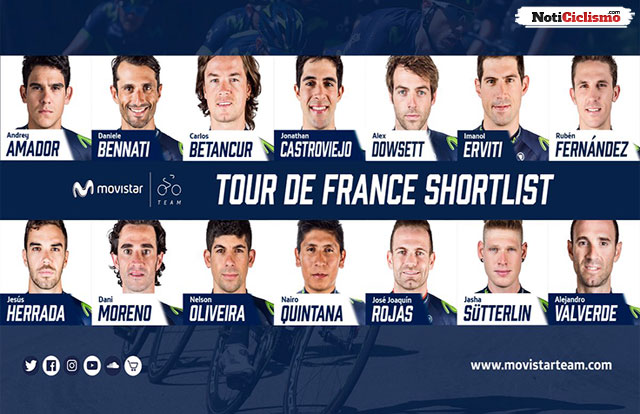 Movistar Team - Tour de Francia