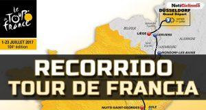 Tour de Francia 2017: Recorrido y perfiles de las etapas
