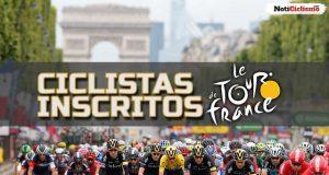 Tour de Francia 2017: Listado oficial de ciclistas inscritos
