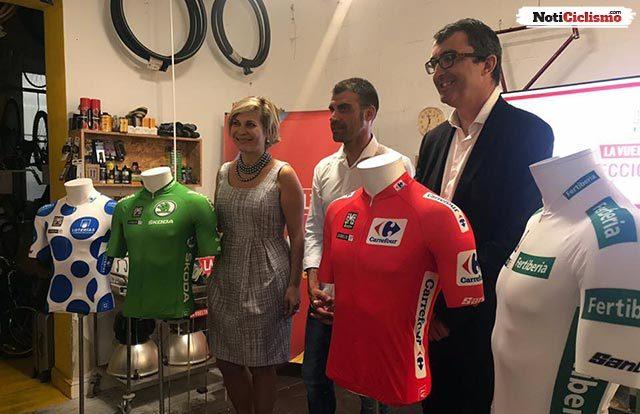 Presentados los maillots de los líderes de la Vuelta a España 2017
