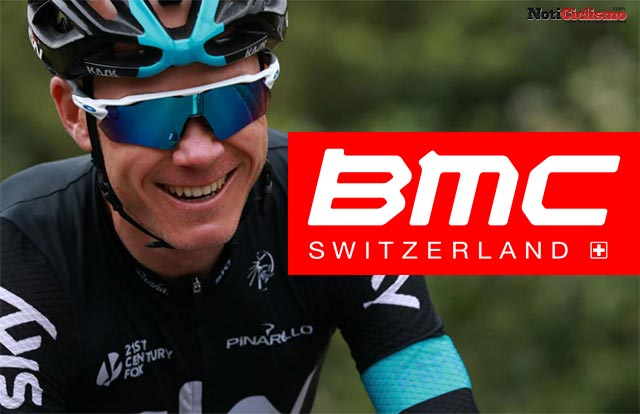Chris Froome quiere irse al BMC en 2018