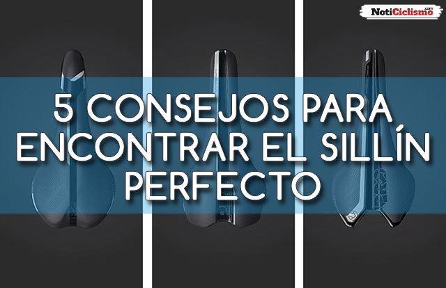 5 consejos para encontrar el sillín perfecto