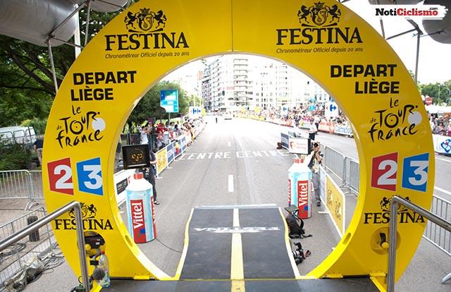 Tour de France 2017 (Etapa1) Orden y horario de salida de la Contrarreloj