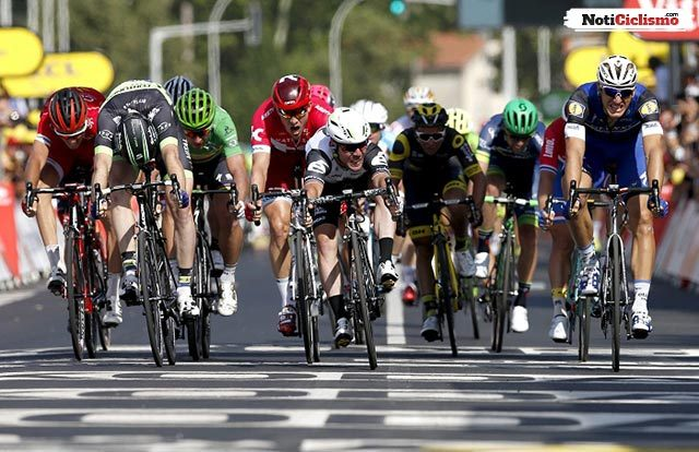Nueva regla introducida para mejorar la seguridad en el sprint del Tour de Francia