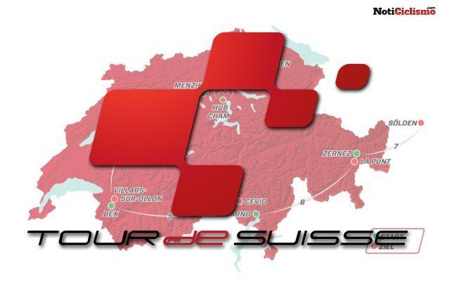 Tour de Suiza 2017: Recorrido y perfiles de etapa