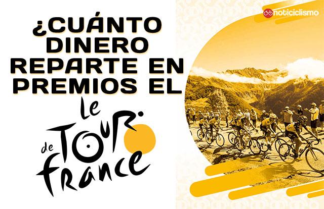 ¿Cuánto dinero reparte en premios el Tour de Francia?