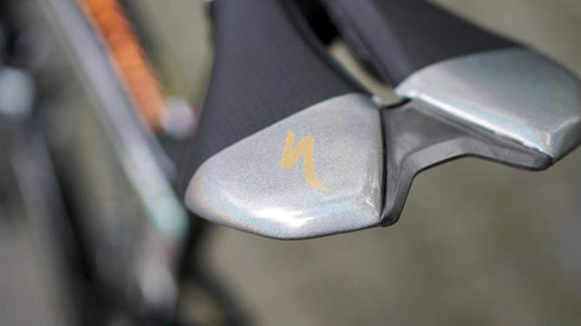 Peter Sagan's Silver S-Works Tarmac