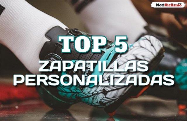 Zapatillas personalizadas usadas por los profesionales
