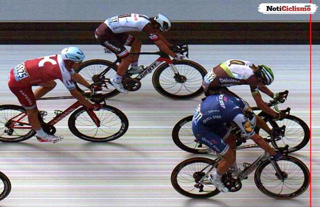 ¿Cómo los jueces descubrieron quién ganó la etapa 7 del Tour?